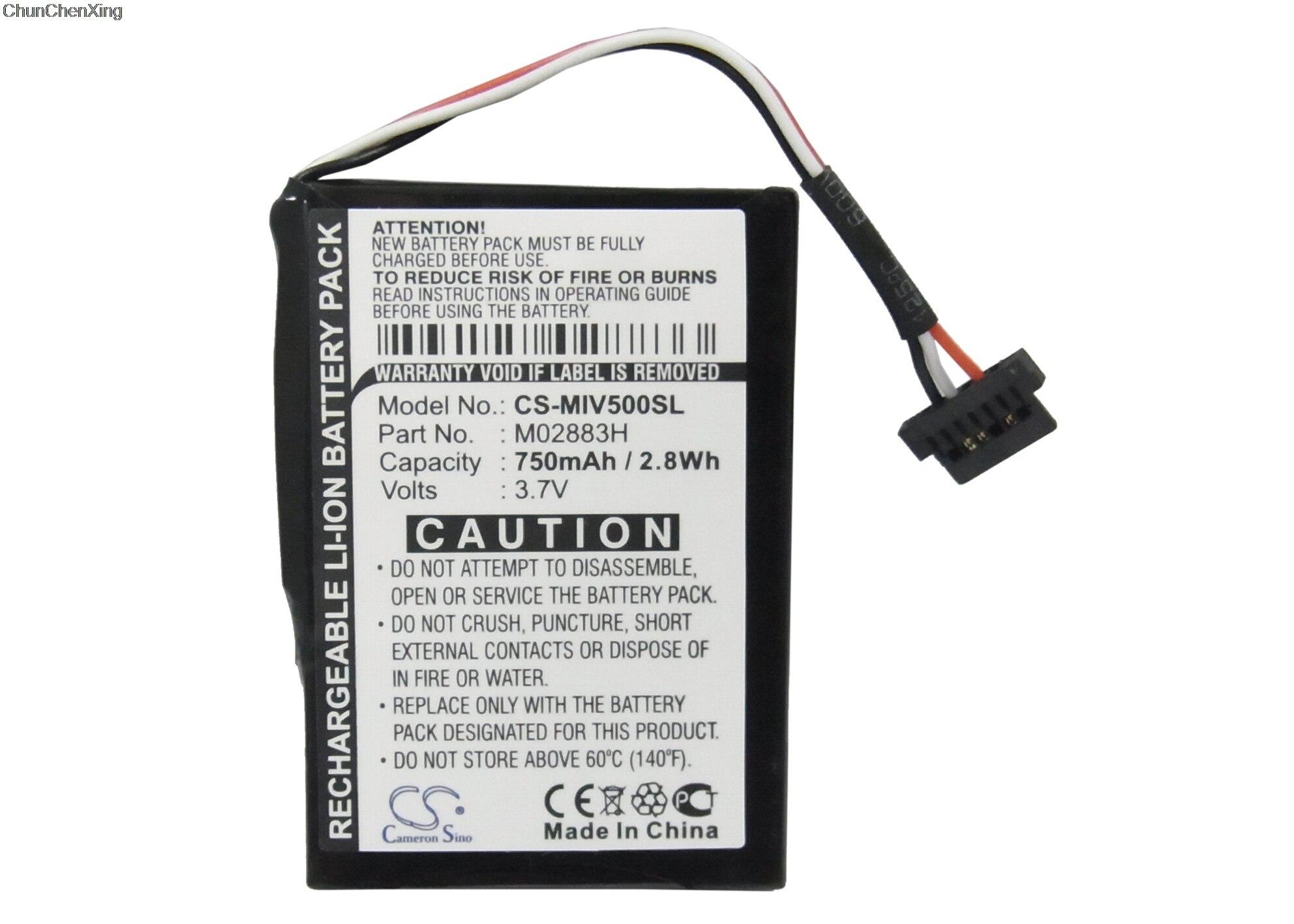 Navigator Battery Battery For Mitac Mio H610 1400mAh GPS