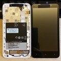 100% оригинальный экран Для HTC Desire 516 ЖК-Дисплей ой Экрана Планшета + рамка Ассамблеи Dual SIM ЧЕРНЫЙ/БЕЛЫЙ