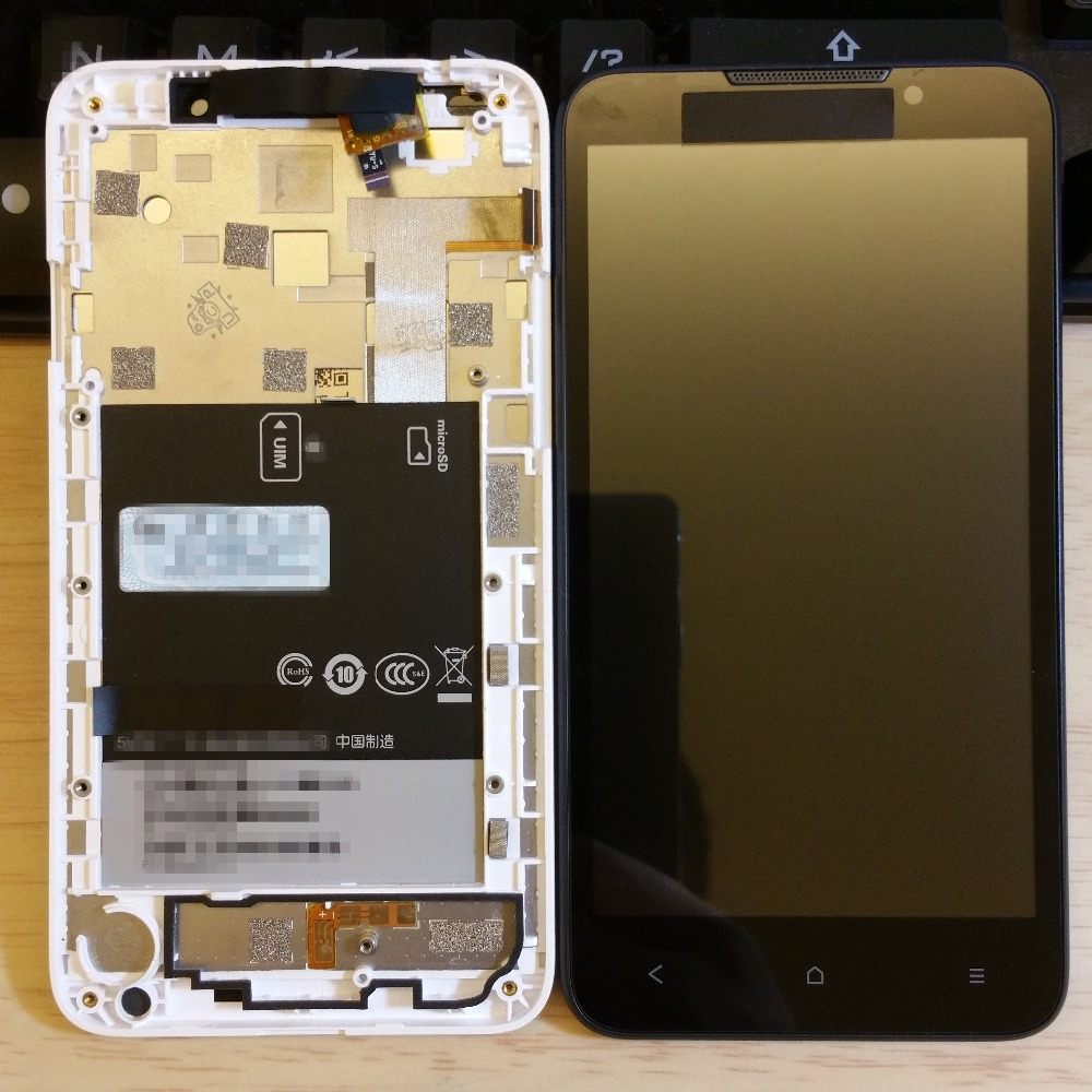 100 original screen For HTC Desire 516 LCD Display ouch Screen Digitizer frame Assembly Dual SIM