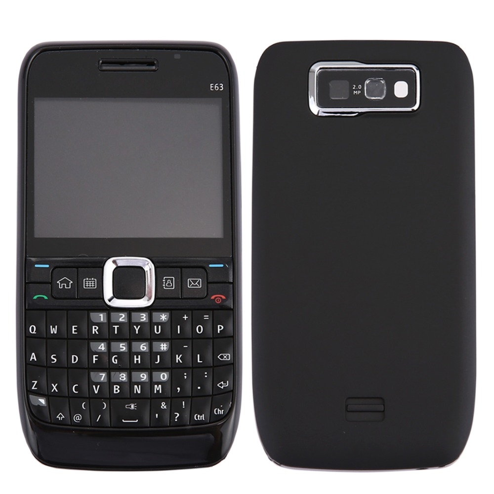 Full Housing Cover (Front Cover + Middle Frame Bezel + Battery Back Cover + Keyboard) For Nokia E63