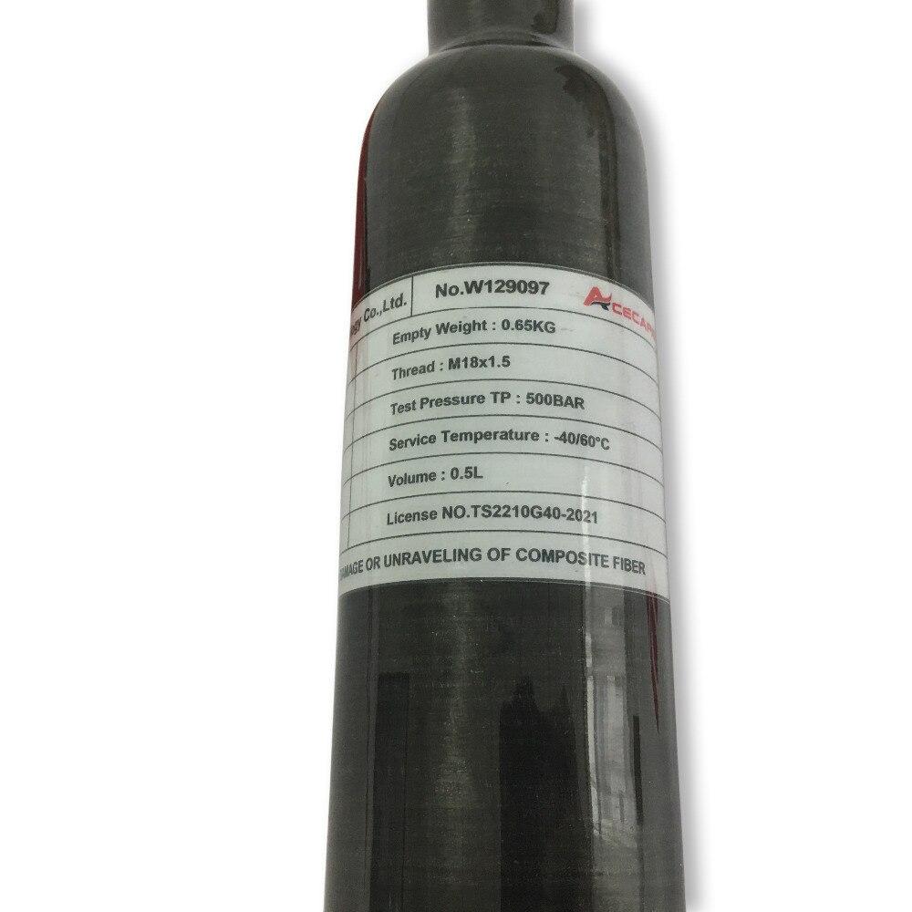 500cc Kohlefaser HPA PCP - Schießen - Foto 4