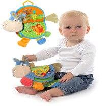 Развитие brinquedo раннее тихий образования кукла книги рождественский книга обучения младенческой