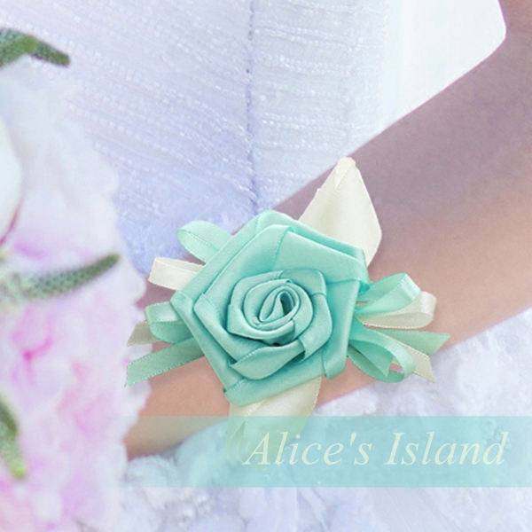 Tiffany Blue Prom Flowers