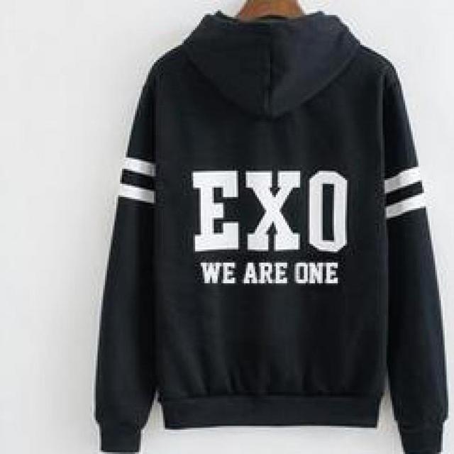 2f5ca0bbd94 Exo Hoodie Baekhyun Hoodie Sehun Shirt Sehun Luhan Suho Camiseta De Xiumin Kris  Tao Kai Kpop Exo Chanyeol Hoodie