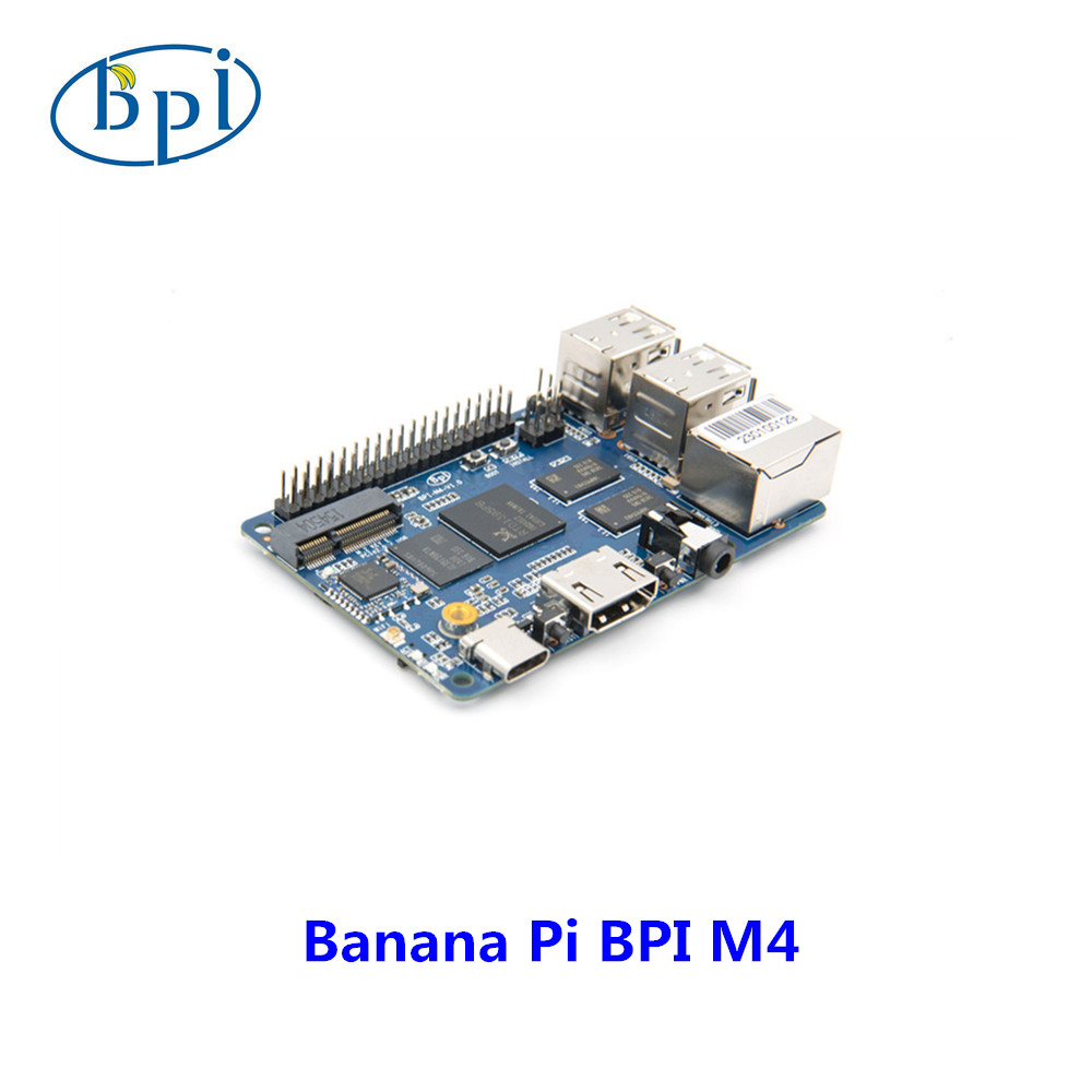 Bananeira Pi BPI M4 Realtek RTD1395 BRAÇO 64 bit Placa