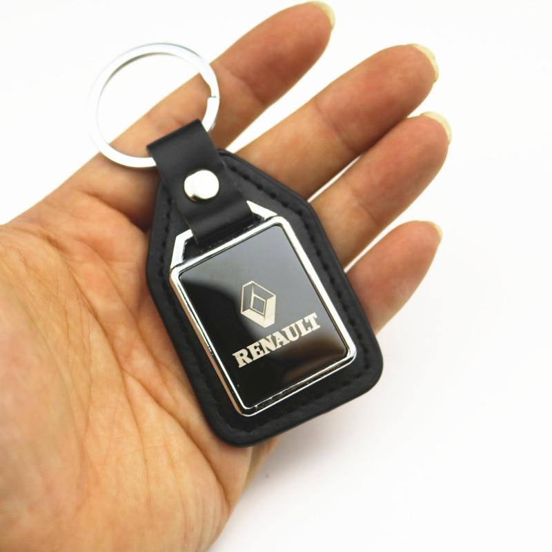 3D металлический автомобильный брелок для Renault Megane 2 3 Duster Logan Clio Laguna 2 Captur автомобильные аксессуары Автомобильный Стайлинг
