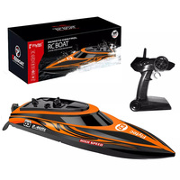 Flytec V003 RC High Speed Boat 2.4G with Self righting Waterproof Built in Water Cooling System 30+Km/h RC Racing Boat RC Toys