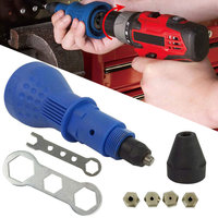 Electric Rivet Nut Riveting Power Tool Cordless Wrench Insert Nuts Adaptor Auto Riveted Drill Adapter ALI88
