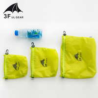 3F UL GEAR 15D силиконовые 30D Cordura водонепроницаемые вакуумные пакеты для одежды хранение разного мешок, мешок для вещей сумка для плавания