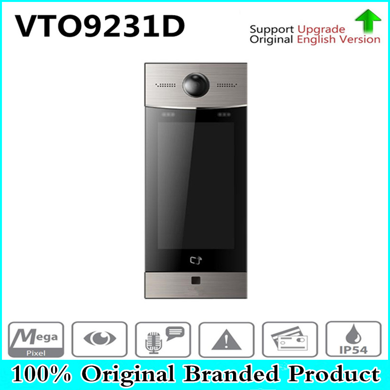 Free Shipping DH Video Intercom IP Products Security Apartment Outdoor Station Original English Version without Logo VTO9231D free shipping video intercom dahua video door phone building intercom apartment outdoor station system without logo vto1210a x