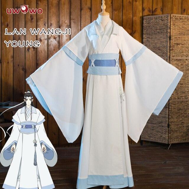 Teenager Lan Wangji Cosplay Anime Grandmaster of Demonic Cultivation Cosplay Costume Lan Wangji Costume Mo Dao Zu Shi