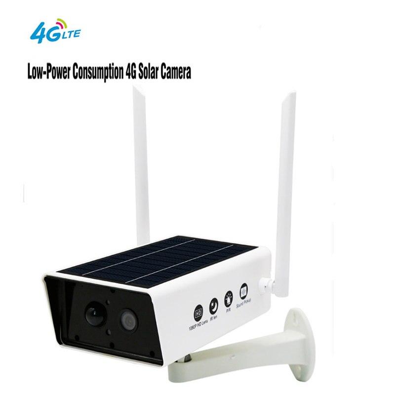 Nouvelle caméra solaire de sécurité étanche extérieure 960 P Wifi caméra IP sans fil téléphone portable télécommande batterie intégrée