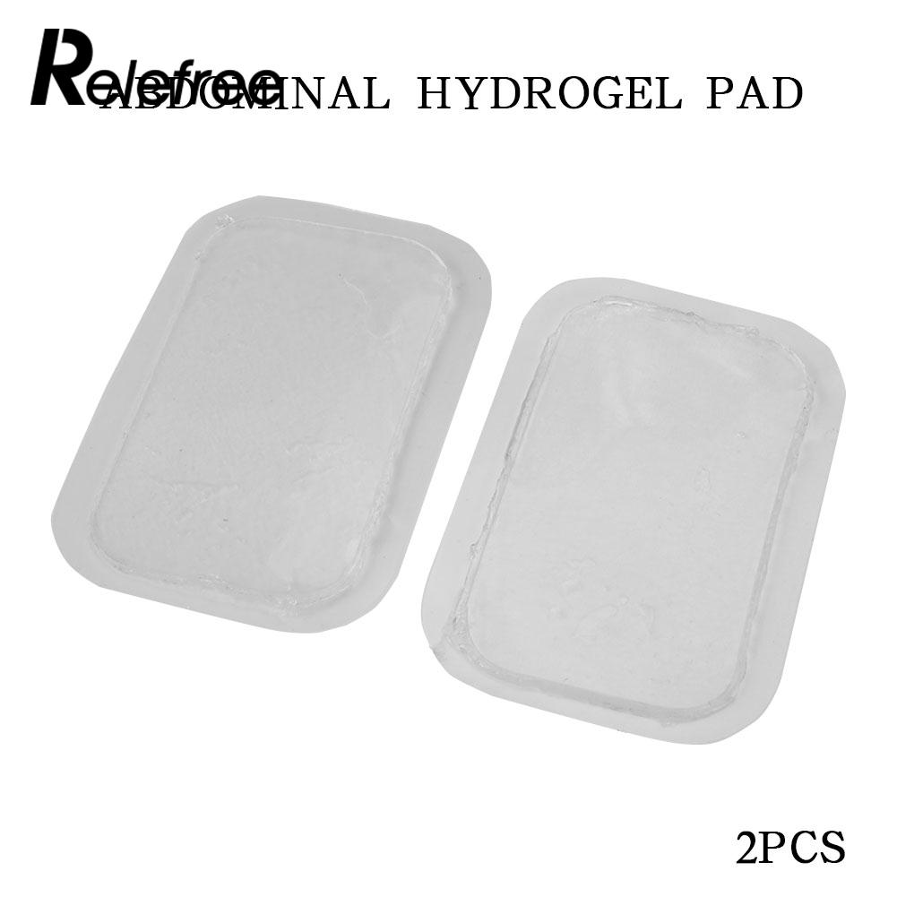 Portable Hydrogel Paste Massage Fitness Stickers Abdominal Muscle Sports Durable Hydrogel Pads Transparent Household Products