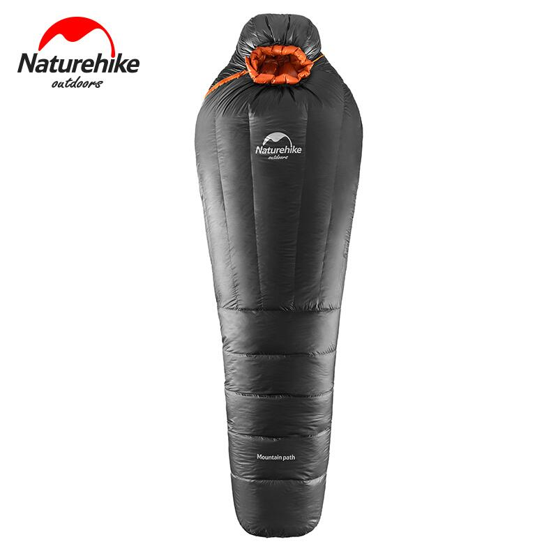 Naturehike Ultralight Warm Adult Sleeping bag Winter Outdoor Camping Mummy Duck Down Sleeping Bag Tourist Camping Equipment