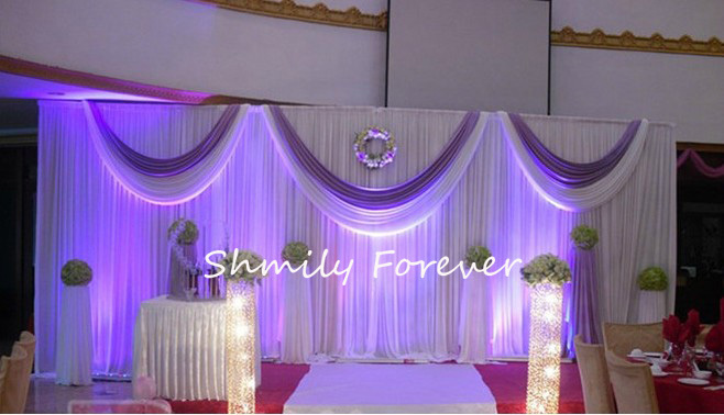 Top Related Special Offer Pure White Light Purple 3x6m