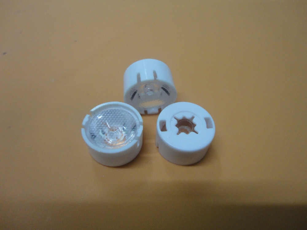 Cree XP-G2 диаметр объектива 13,1 мм поверхность бусин (10 15 20 30 45 65 75 90 градусов) XP-E линзы, 3535 светодиодный объектив (с подставкой)