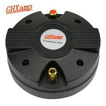 GHXAMP 44/ 44.4 Core Horn Tweeter Speaker 8ohm 45W Stage Treble Speaker Drive Head Titanium Film Magnet 115*15MM 1PC