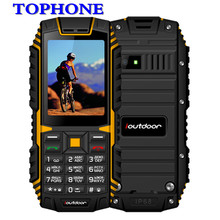 2018 original ioutdoor T1 IP68 Waterproof cellPhone 2.4Inch 128M+32M 2MP FM MP3 2100mAh Rugged Shockproof Dustproof Mobile Phone