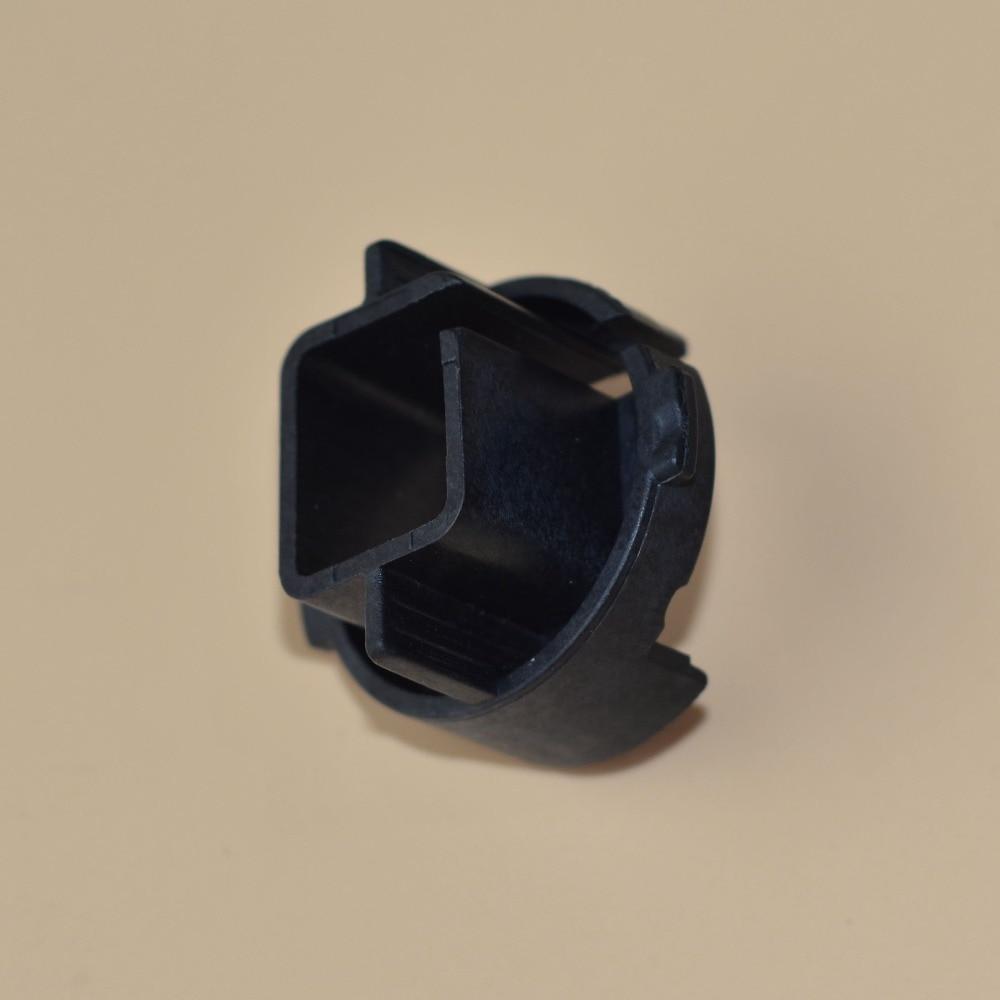 GZTOPHID 4pcs/lot h7 bulb hid holder xenon hid adapter car light conversion convert base for hyundai azera/kia/carens