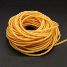 2050 3060 10m Natural Latex Slingshots Rubber Tube Bow Band Catapult Elastic Part Fitness Bungee Equipment Tool