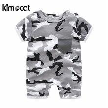 Kimocat одежда для маленьких мальчиков комбинезон девочек с