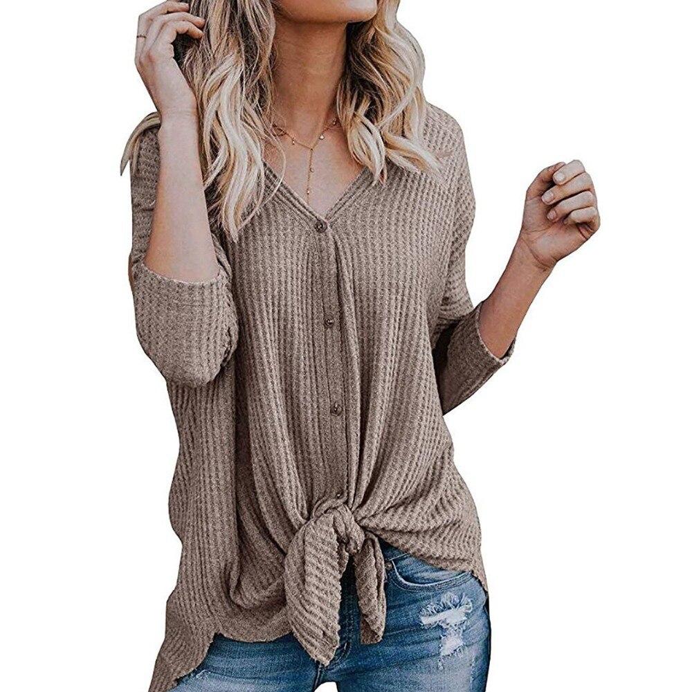 Mujer gris V Abrigo La Primavera Cuello 2019 Otoño Con Tops En Chaquetas Negro blanco De Sexy Asimétrico Las Mujeres Moda Picture Diseño as caqui Y Suéter wxxT1aq7