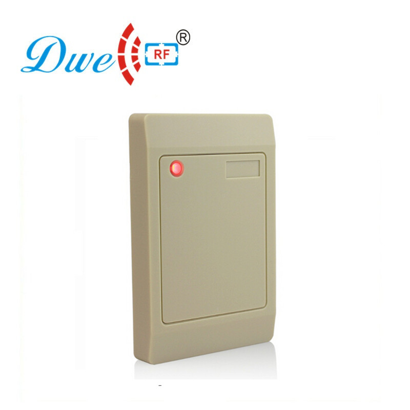 DWE CC RF 12V control card readers none keypad contactless access control rfid reader waterproof outdoor dwe cc rf contactless 125khz rfid plug and play reader with usb interface reading decimal or hexadecimal