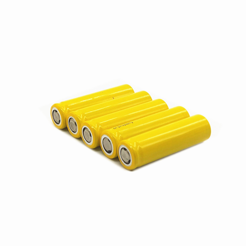 yellow pingtou Batteries 14500 battery AA 3 7 V lithium ion rechargeable batteries for LED flashlight free delivery in Replacement Batteries from Consumer Electronics