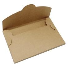 Divers boîtes de rangement Vintage en papier Kraft brun, enveloppe pliable pour photos, paquet de cartes de vœux, boîtes en carton 30 pièces/lot