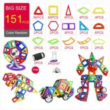 KACUU Magnetic Designer Construction & Building Toys 157PCS Big Size Magnetic Blocks Magnets Building Blocks Toys For Children