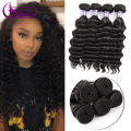 Beach Wave Mink Brazilian Hair Wet And Wavy Virgin Brazilian Hair Meche Bresilienne Cheveux Humain 3pcs/lot Neaural/More Wave
