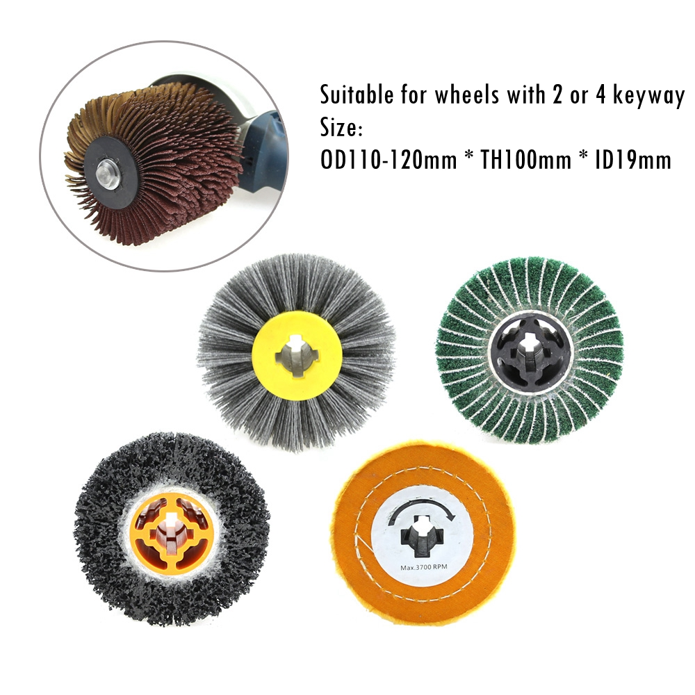"""Sisal Buffing Polissage Wheel 150 mm 6/"""" Weld Grind Cleaning Bench Grinder"""