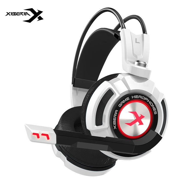 ФОТО 2016 Xiberia K3 Gaming Headphone with Microphone Surround Sound Game Headset Noise Cancell Glowing LED USB Shock for Computer PC