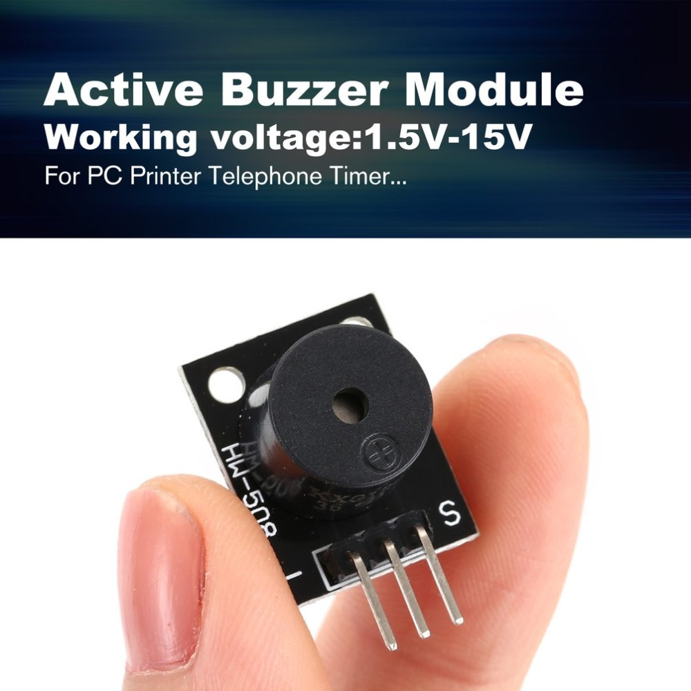 10PC KY-012 Active Buzzer Module For Arduino AVR PIC Active Speaker Buzzer Alarm Mode Accessories For PC Printer Telephone Timer