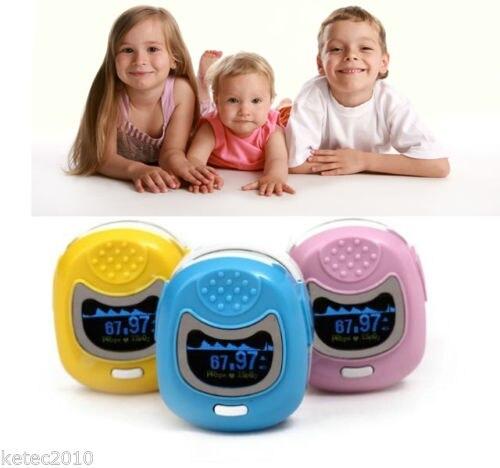 CONTEC Finger Cute Pulse Oximeter Oxygen SPO2 Monitor for Children Kids CMS50QB elera portable finger pulse oximeter spo2 pr odi4 pi fingertip oximetro de pulso de dedo blood oxygen saturometro