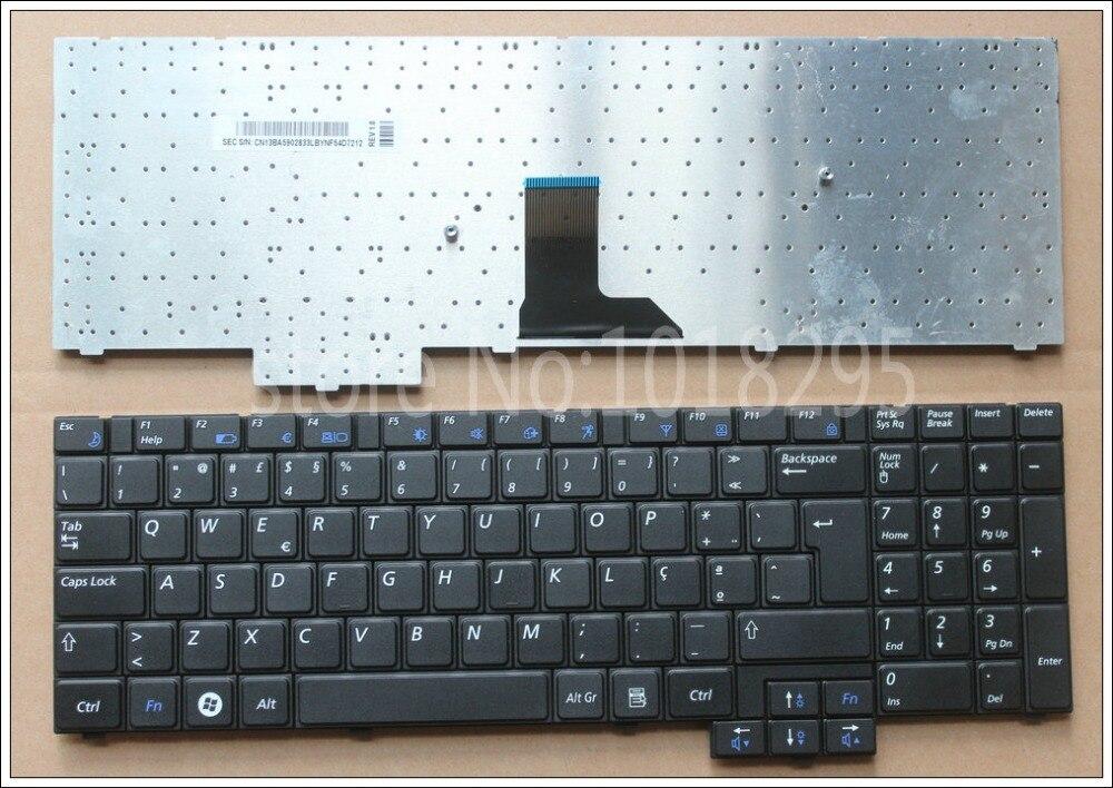 NEW Portugal  Keyboard For Samsung R620 R528 R530 R540 NP-R620 R525 NP-R525 R517 R523 RV508  PO Black  Laptop Keyboard