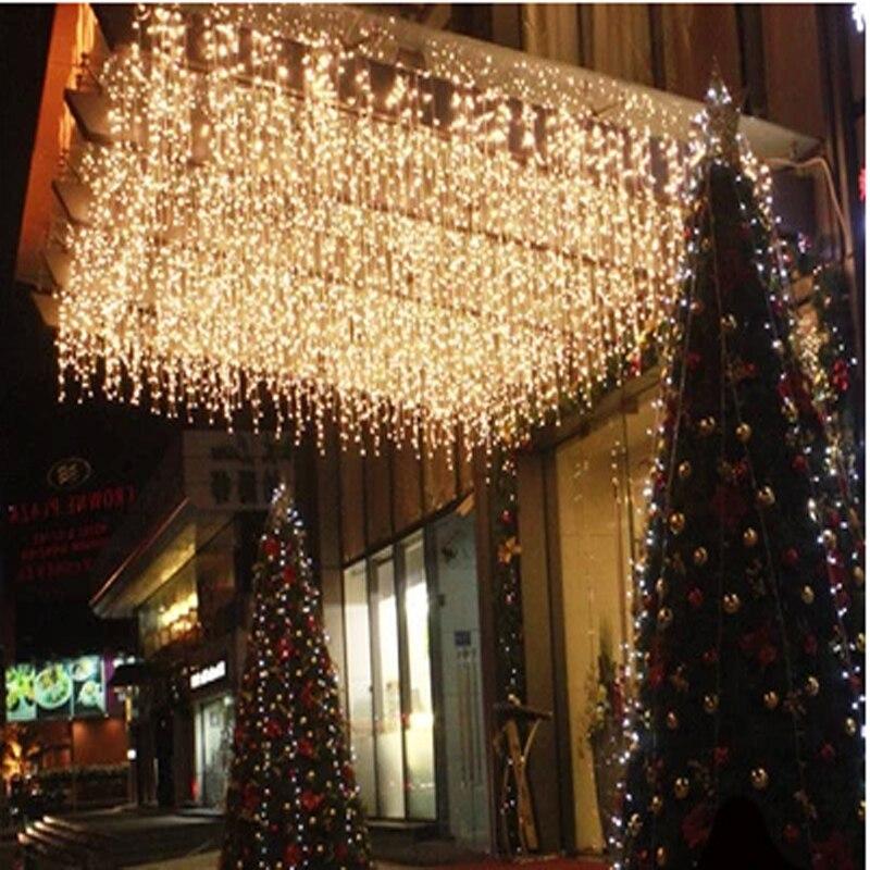 Led curtain lights Christmas decoration lamp ice bar lamp string ...