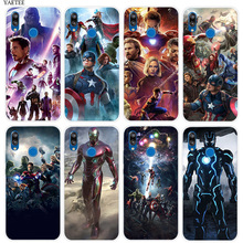 Marvel Avengers Silicone Phone Case For Huawei P20 P30 Pro P10 P8 P9 lite Mini 2017 P Smart + Plus 2019 Nova 3E 3i Cover Coque стоимость