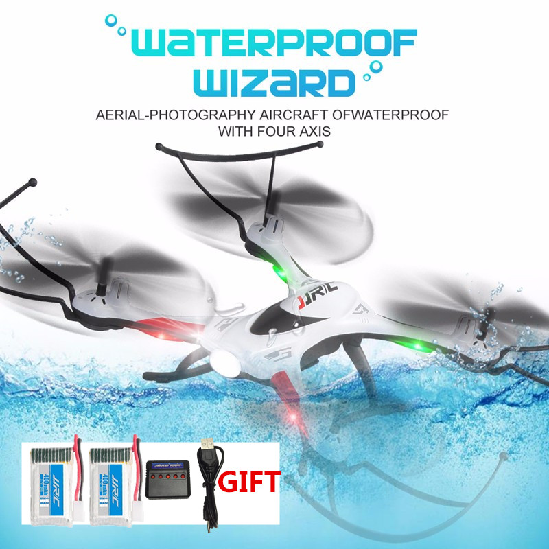 H31 JJRC RC Drone Impermeabile Resistenza A Cadere Quadrocopter Un Ritorno chiave 2.4G 6 Assi RC Quadcopter RC Helicopter VS JJRC H37