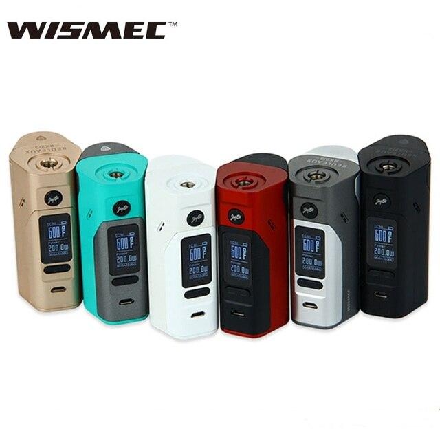 Электронная сигарета Wismec рел RX2/3 Box Mod обновленная RX23 150 W/200 W TC Box Mod без Батарея 100% оригинальный против RX200S