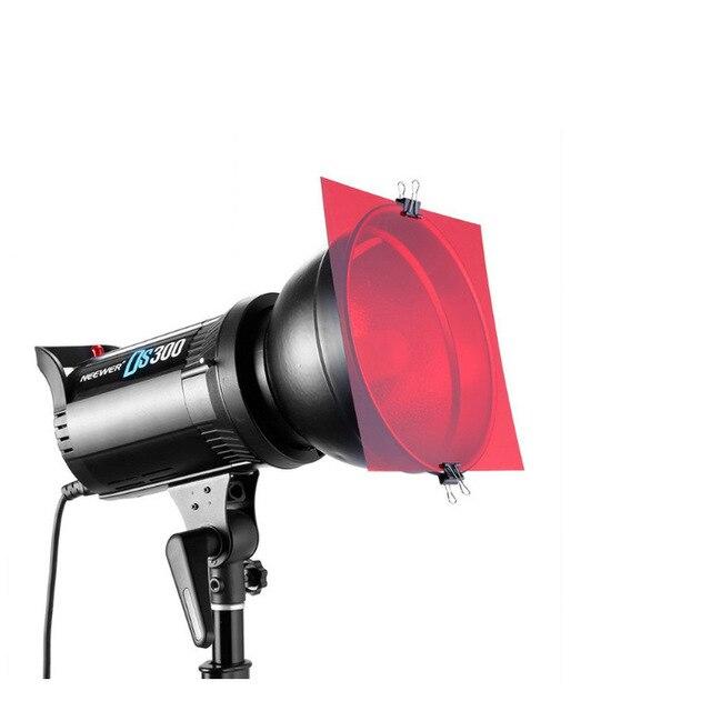 11in1 30 cm 12 אינץ פלאש צבע סרט וידאו אור צילום מסנן אביזרי עבור Aputure 120dii 120d 300d Godox DE300 מהבהב