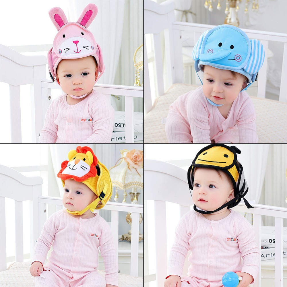 Mother & Kids Objective Baby Learn To Walk Cap Toddler Anti-collision Hat Baby Solid Color Protective Head Hat Safety Helmet Edge & Corner Guards
