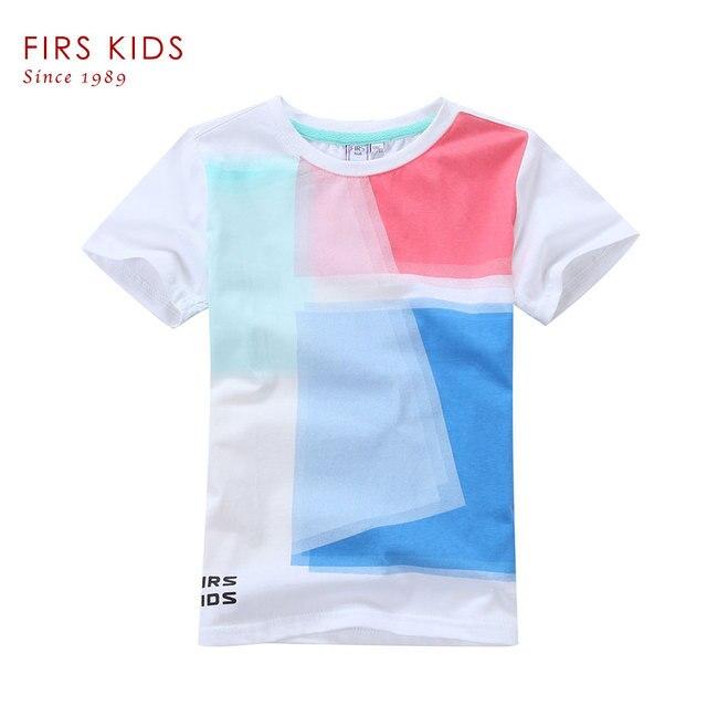 FIRS KIDS Summer Style Children T Shirt Girls Boys Clothes Clothing Brand Kids T shirt for Girl Boy Tees top Short sleeve-10