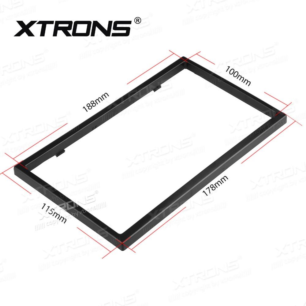 Xtrons universal doble 2 Din cara panel placa fascia marco para el ...
