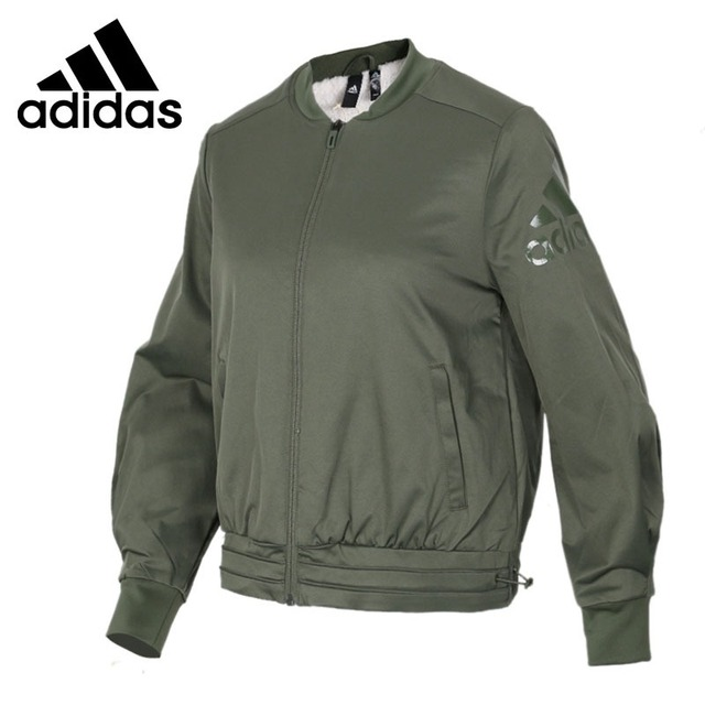 d4ae26e03a2f Original New Arrival 2018 Adidas FEM JKT WV BOMB Women s jacket Sportswear