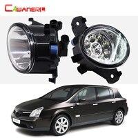 Cawanerl 2 Pieces Car Styling Fog Light LED Light Lamp DRL Daytime Running Light 12V DC