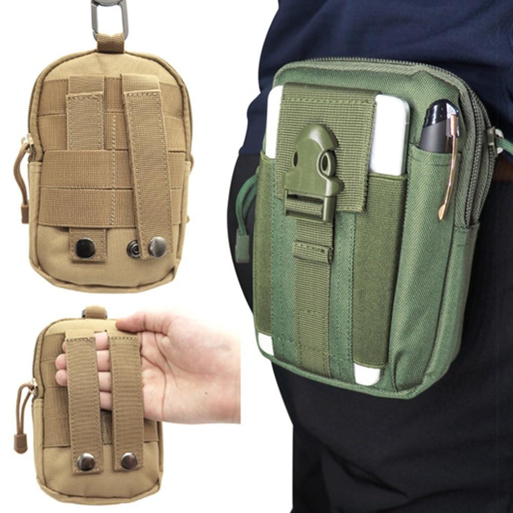 Pouch Universal Outdoor Sports Belt Waist Pack Bag Military Waist Gadget Pocket Security Carry Case