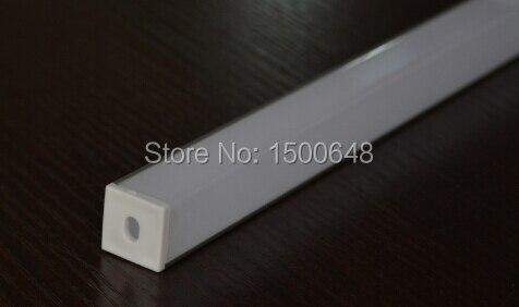 Perfil de aluminio de la longitud LED de 25pcs / lot 1m para la barra - Iluminación LED - foto 4