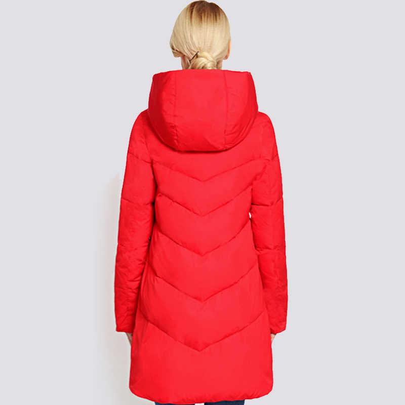 2019 frauen Winter Jacke Plus Größe Lange Modische Frauen Winter Mantel Mit Kapuze Warme Verdickung winddicht Unten Jacke Parka