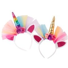 Colourful Unicorn Headband